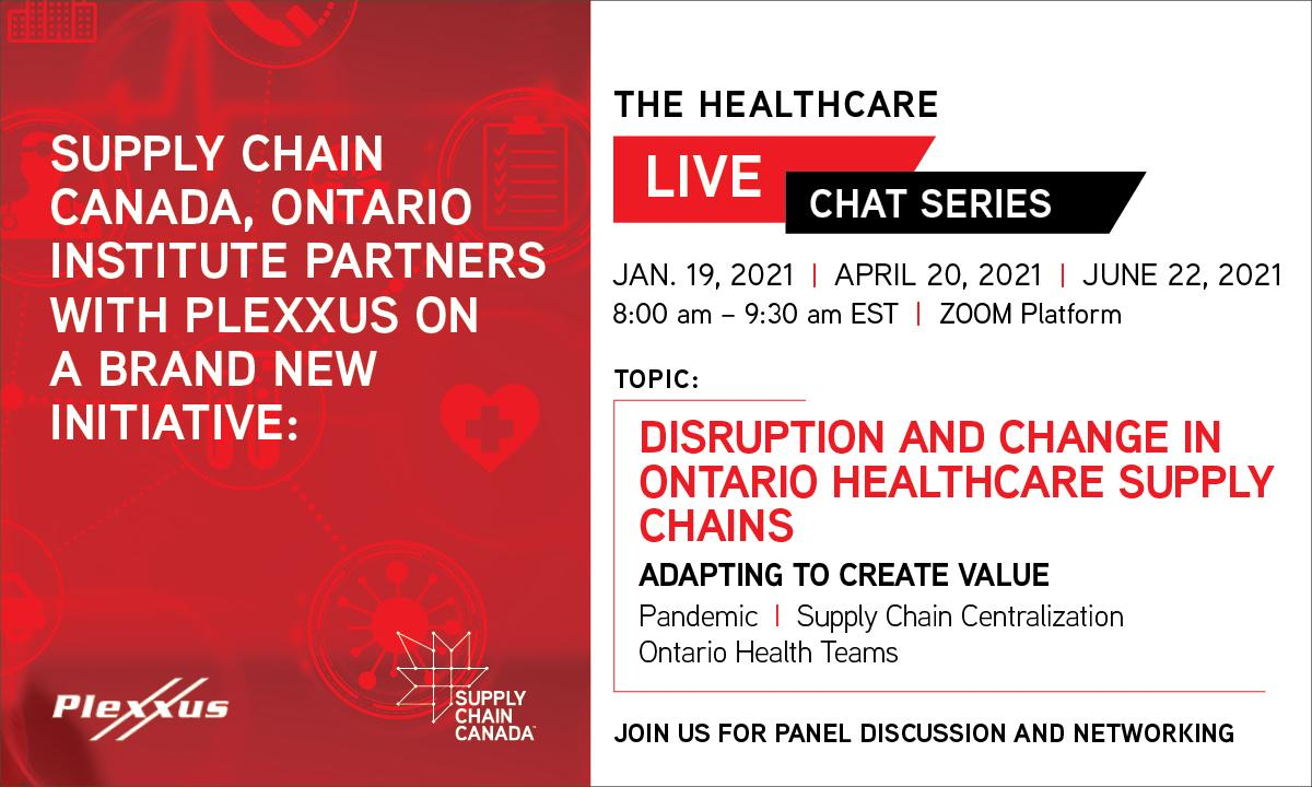Supply Chain Canada Healthcare Chat Series Nov 2, 2020